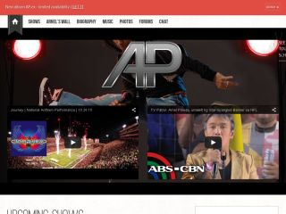 Arnel Pineda Official Website